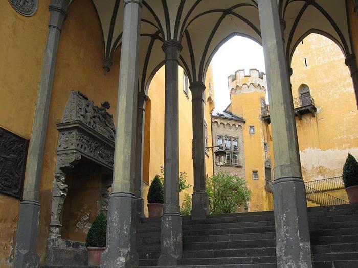Рейнская жемчужина -Замок Штольценфельс 90967