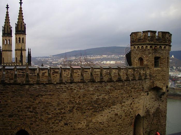 Рейнская жемчужина -Замок Штольценфельс 51323