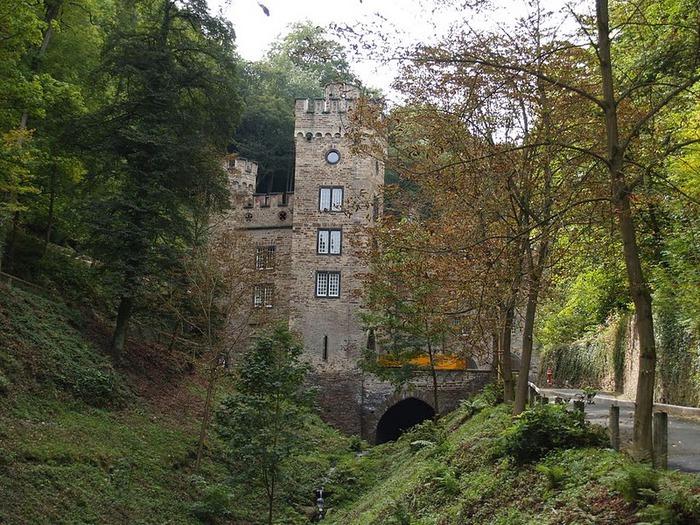 Рейнская жемчужина -Замок Штольценфельс 12089