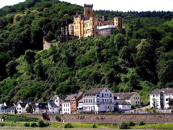 Рейнская жемчужина -Замок Штольценфельс 71466