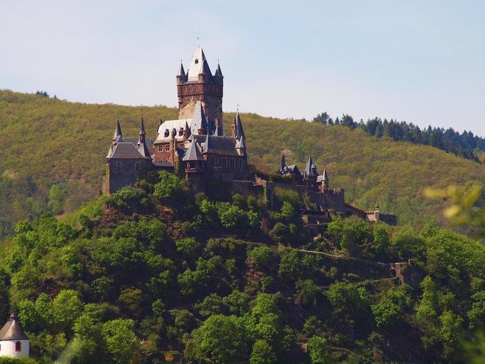 Замок Кохем под Райхсбургом. Германия. 53461