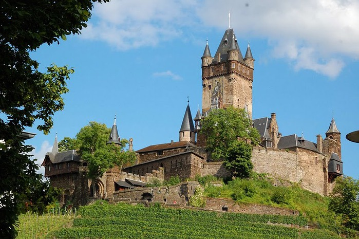 Замок Кохем под Райхсбургом. Германия. 95026