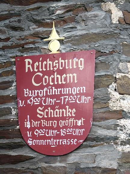 Замок Кохем под Райхсбургом. Германия. 92065