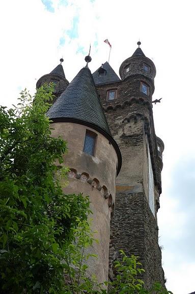 Замок Кохем под Райхсбургом. Германия. 19951