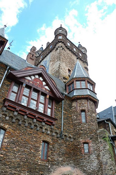Замок Кохем под Райхсбургом. Германия. 79867
