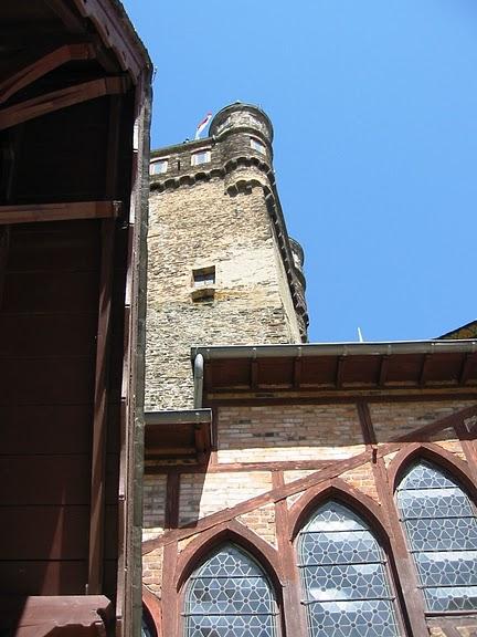 Замок Кохем под Райхсбургом. Германия. 41468
