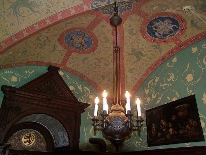 Замок Кохем под Райхсбургом. Германия. 90303