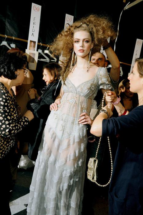 макияжи с показа Dior Осень/зима 2010-2011