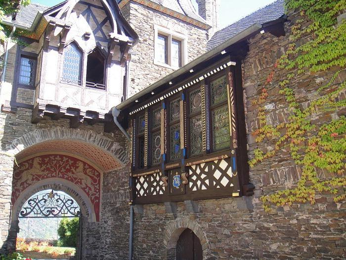 Замок Кохем под Райхсбургом. Германия. 69838
