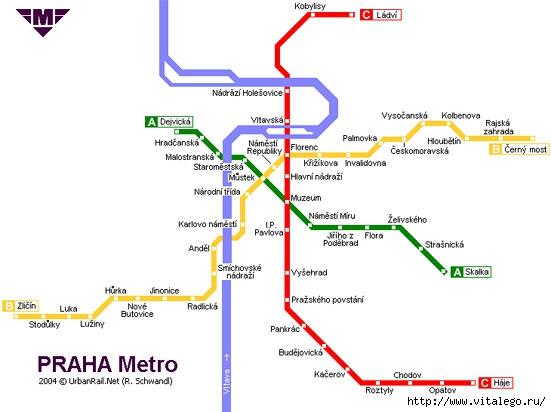 схема метро города Сан Пауло
