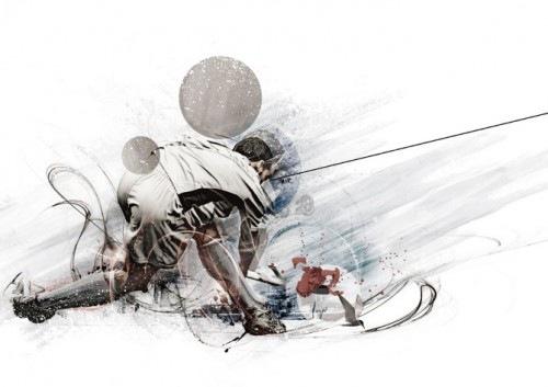 Иллюстрации художника David Delin aka 28162 3
