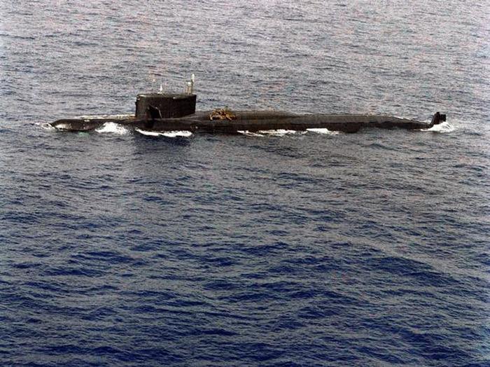 """подводная лодка """"К-219"""" с"""