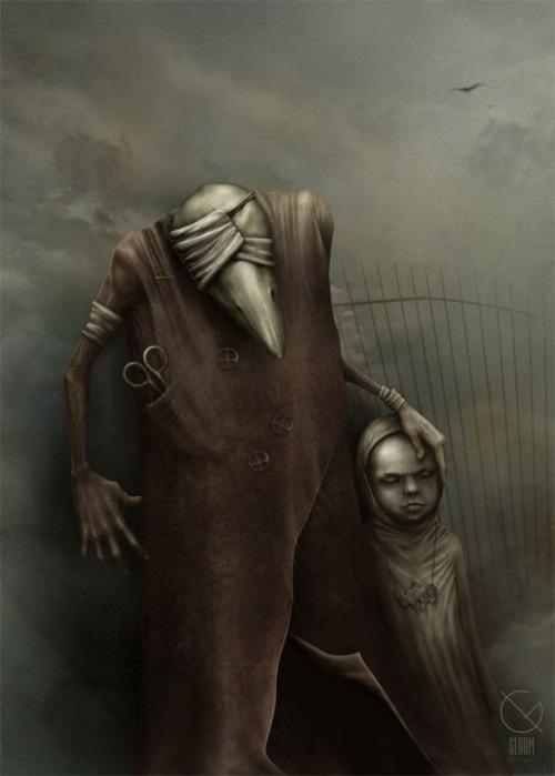 Иллюстрации Антона Семёнова известного под ником Gloom82 10