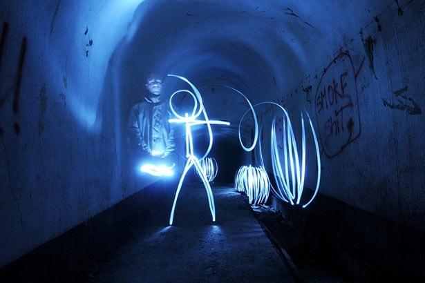 100 великолепных примеров светографики (Light Painting) 45