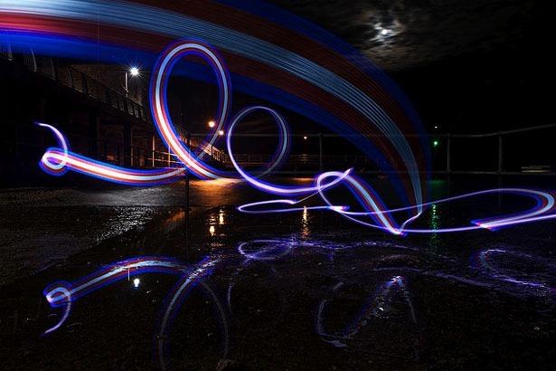 100 великолепных примеров светографики (Light Painting) 57