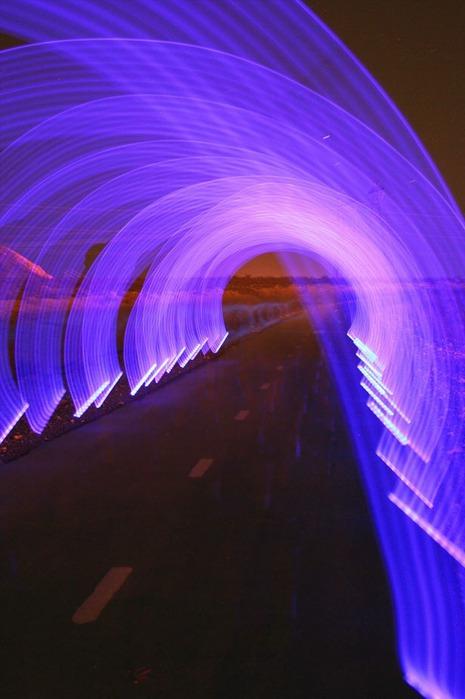 100 великолепных примеров светографики (Light Painting) 88