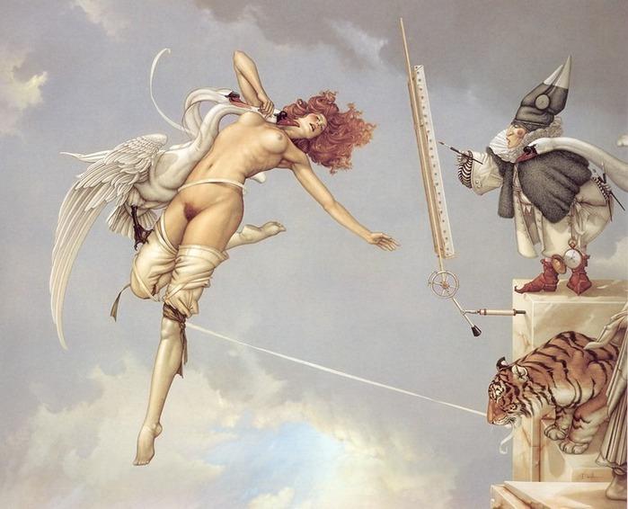 Основатель течения магического реализма Майкл Паркес (Michael Parkes) 1