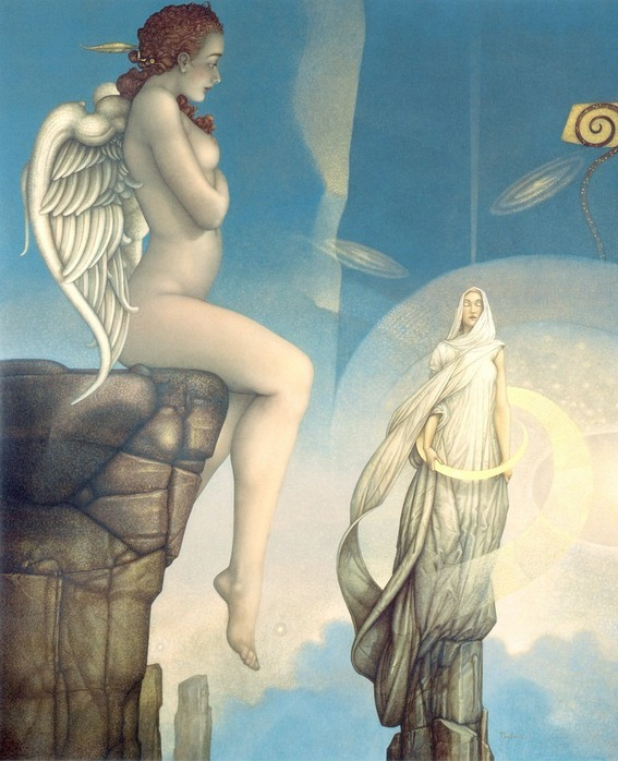 Основатель течения магического реализма Майкл Паркес (Michael Parkes) 4