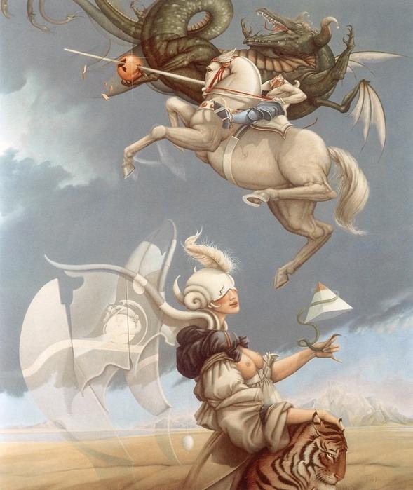 Основатель течения магического реализма Майкл Паркес (Michael Parkes) 5