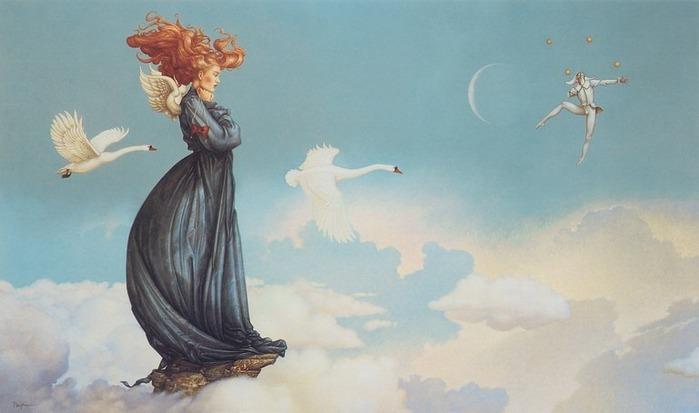Основатель течения магического реализма Майкл Паркес (Michael Parkes) 7