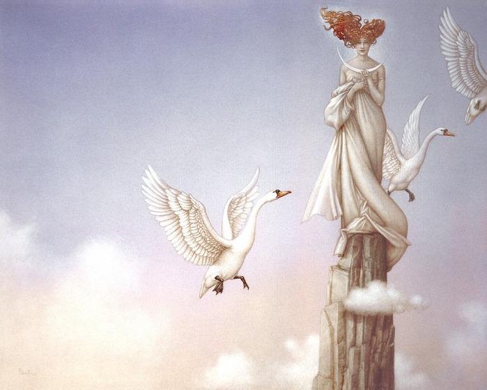 Основатель течения магического реализма Майкл Паркес (Michael Parkes) 9