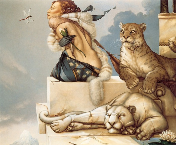 Основатель течения магического реализма Майкл Паркес (Michael Parkes) 15