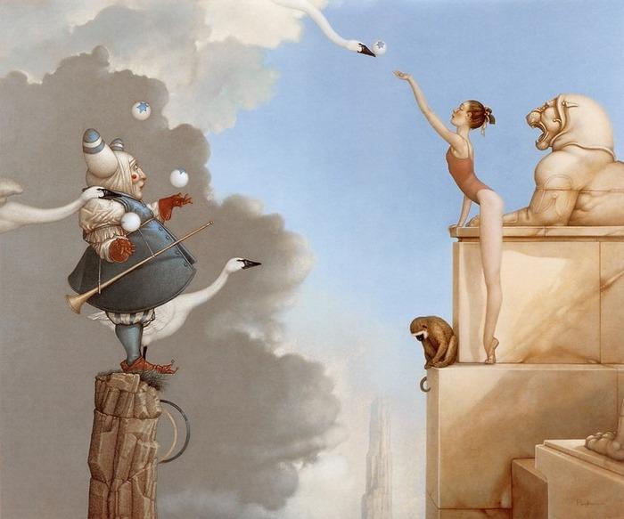 Основатель течения магического реализма Майкл Паркес (Michael Parkes) 18