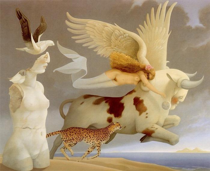 Основатель течения магического реализма Майкл Паркес (Michael Parkes) 20