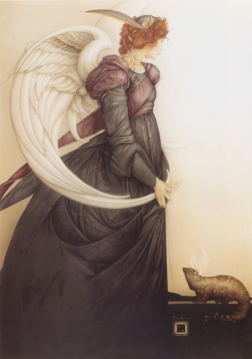 Основатель течения магического реализма Майкл Паркес (Michael Parkes) 26