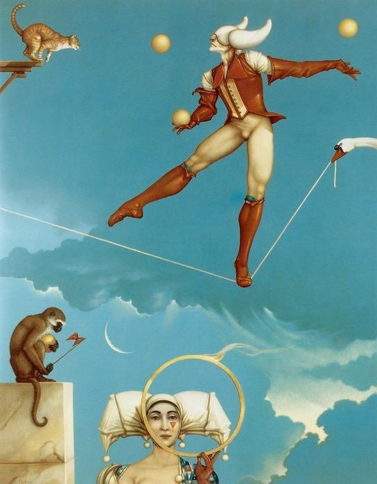 Основатель течения магического реализма Майкл Паркес (Michael Parkes) 29