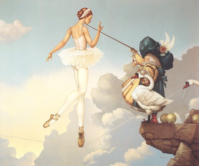 Основатель течения магического реализма Майкл Паркес (Michael Parkes) 34