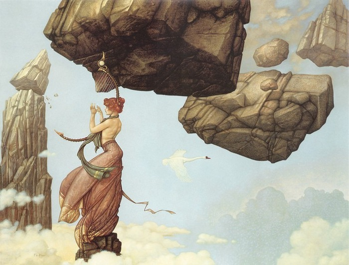Основатель течения магического реализма Майкл Паркес (Michael Parkes) 39