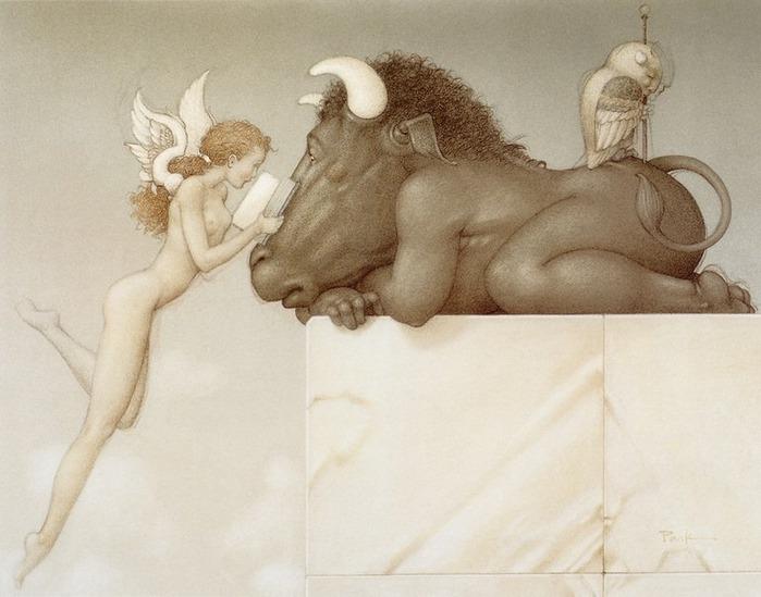 Основатель течения магического реализма Майкл Паркес (Michael Parkes) 41