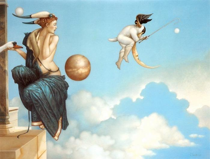 Основатель течения магического реализма Майкл Паркес (Michael Parkes) 44