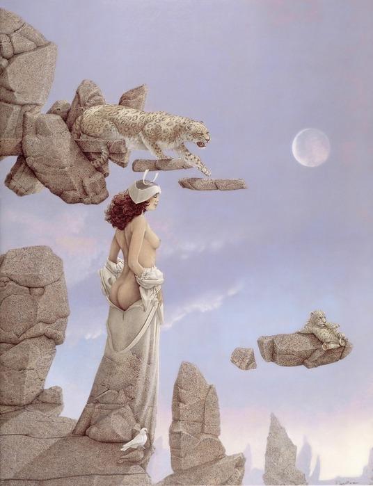 Основатель течения магического реализма Майкл Паркес (Michael Parkes) 51