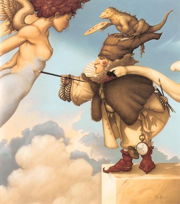 Основатель течения магического реализма Майкл Паркес (Michael Parkes) 55