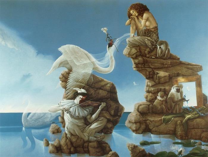Основатель течения магического реализма Майкл Паркес (Michael Parkes) 65