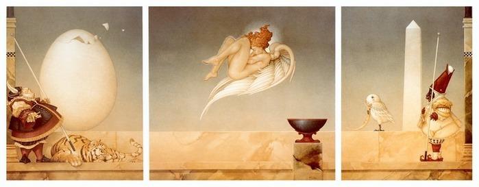 Основатель течения магического реализма Майкл Паркес (Michael Parkes) 68