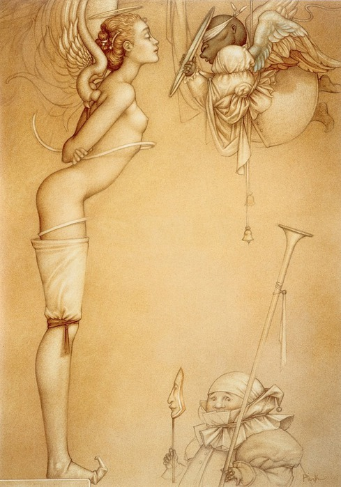 Основатель течения магического реализма Майкл Паркес (Michael Parkes) 71