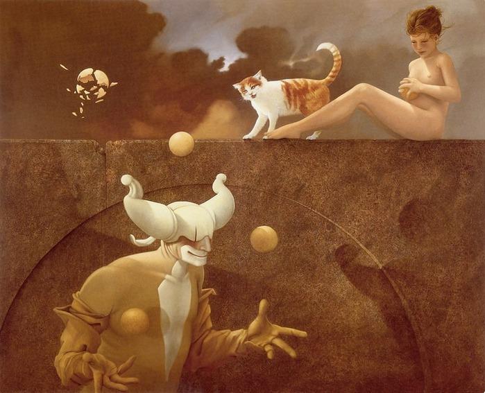Основатель течения магического реализма Майкл Паркес (Michael Parkes) 74