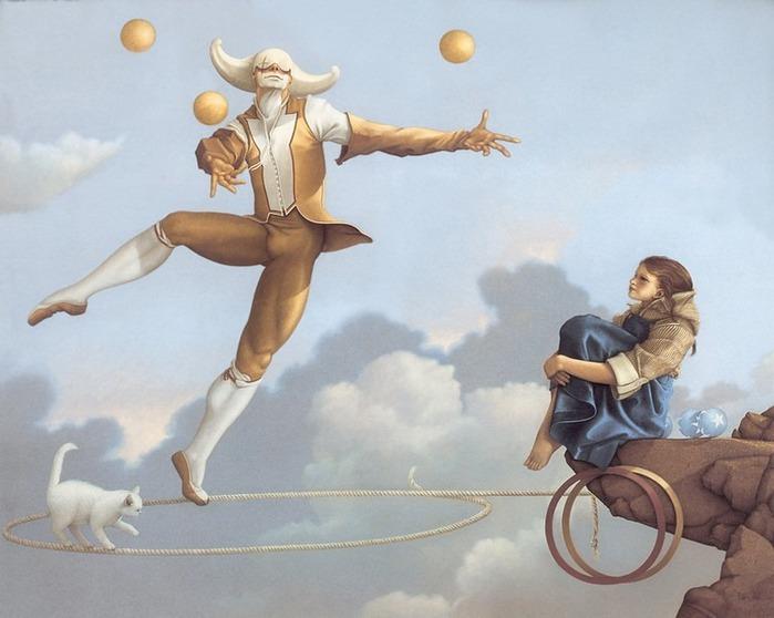 Основатель течения магического реализма Майкл Паркес (Michael Parkes) 75