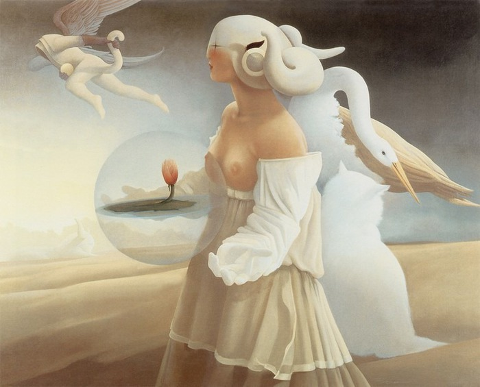 Основатель течения магического реализма Майкл Паркес (Michael Parkes) 78