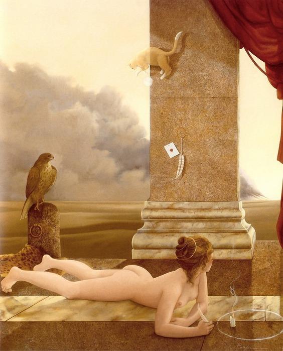 Основатель течения магического реализма Майкл Паркес (Michael Parkes) 79