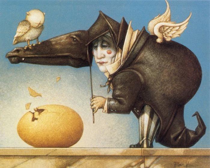 Основатель течения магического реализма Майкл Паркес (Michael Parkes) 82