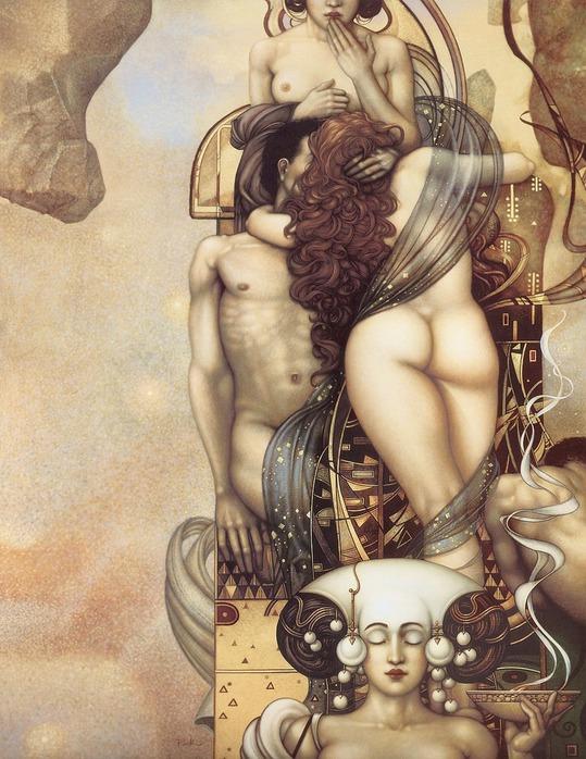 Основатель течения магического реализма Майкл Паркес (Michael Parkes) 83