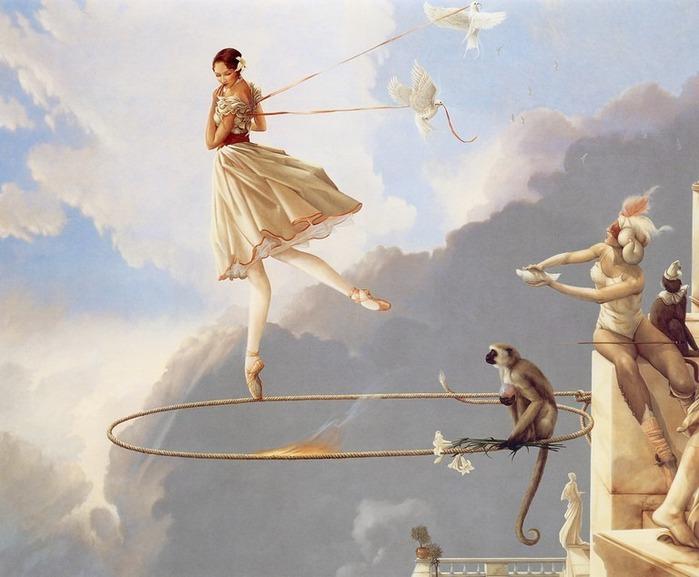 Основатель течения магического реализма Майкл Паркес (Michael Parkes) 87