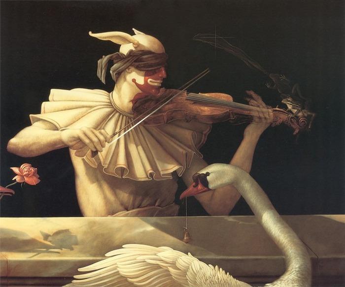 Основатель течения магического реализма Майкл Паркес (Michael Parkes) 90