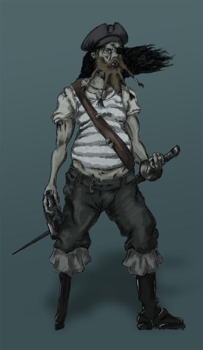 рисунки пиратов: