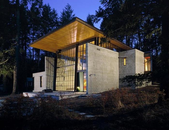 Дом архитектора Олсона Кундига (Olson Kundig)