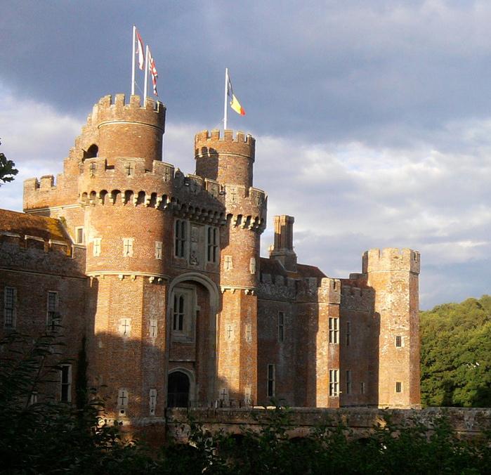 Замок Хёрстмонсо - Herstmonceux Castle 14107